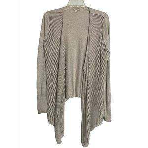 3 for $30 Sonoma Beige Open Front Cardigan Sweater